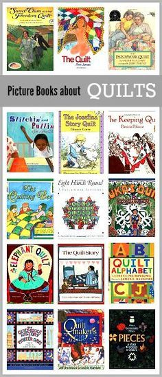 Children's Book List: Picture Books about Quilts~ BuggyandBuddy.com