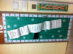 Christmas Classroom Door~ I'm so doing this one!  I love it!!!!!!