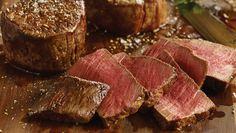10 Steps to Perfect Pan-Seared Filet Mignon – Omaha Steaks - Food: Veggie tables Pan Seared Filet Mignon, Filet Mignon Steak, Beef Filet, Entree Recipes, Meat Recipes, Cooking Recipes, Quick Recipes, Cooking Tips, Boneless Pork Chops