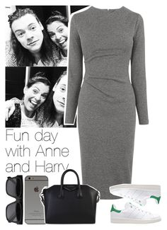 """""""Fun day with Anne and Harry"""" by lottieaf ❤ liked on Polyvore featuring Whistles, adidas Originals, CÉLINE, Givenchy, women's clothing, women, female, woman, misses and juniors"""