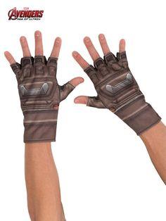 Halloween Adult Captain America Avengers Gloves