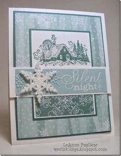 LeAnne Pugliese WeeInklings To Your & Yours Stamping Up Christmas Merry Monday 130