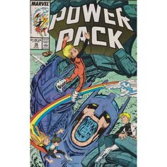 POWER PACK #36 | 1984-1991 | VOLUME 1 | MARVEL | $4.50