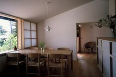 House in Zushi by Yasushi Horibe Architect & Associates Interior And Exterior, Interior Design, Japanese Interior, Wood Interiors, Japanese House, Simple House, House Rooms, Home Living Room, Decoration