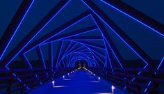High Trestle Trail Bridge Public Art by RDG Planning & Design on Creativitea