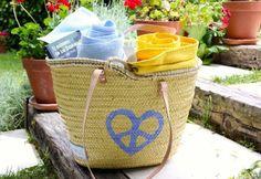 Twenty Violets Cesto,capazo,bolso de playa. Ss2013 Original