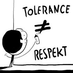 Tolerance není respekt