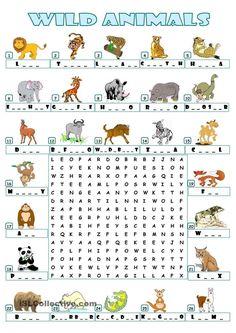 Farm animals - wordsearch worksheet - free esl printable worksheets made by Animal Worksheets, Animal Activities, Printable Worksheets, Free Printable, English Lessons, English Words, Learn English, The Animals, Farm Animals