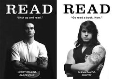 Henry Rollins and Danzig want you to read. i can't explain how awesome this is!