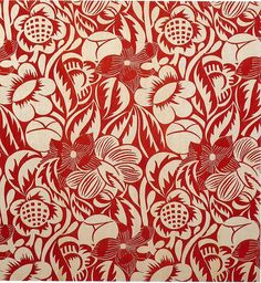 Raoul Dufy fabric design.