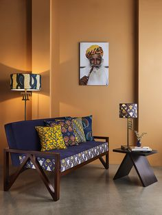 African Living Rooms, African Bedroom, African Interior Design, African House, African Home Decor, Decoration Inspiration, Inspired Homes, Home And Living, Furniture Design