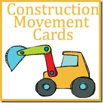 Construction Movement Cards to Get Kids Moving – Royal Baloo – Apraxia Kids Learning Activities and Support - Decoration Construction Theme Preschool, Construction Crafts, Preschool Themes, Preschool Printables, Preschool Age, Preschool Centers, Construction Business, Construction Birthday, Construction Design