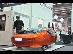 Urbee: первый автомобиль, напечатанный на 3D-принтере