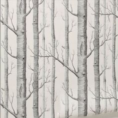 Tree pattern non-woven wallpaper roll 3d modern design wallcovering woods wallpaper background wall wallpaper for living room