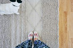 Texture, texture, texture! So much to love in OhDearDrea's abode using our Natura rug.