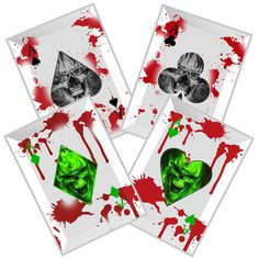 With these Zombie Slayer Apocalypse Recovery Crew Throwing Cards, you will always have a full house in your hand. #zombieslayerapocalypserecoverycrewthrowingcards