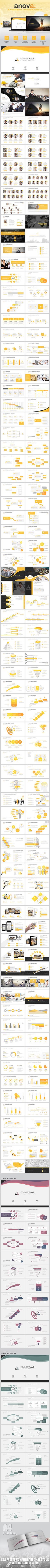 Anova - Project Based Powerpoint Template #design #slides Download: http://graphicriver.net/item/anova-project-based-powerpoint-template/12760172?ref=ksioks