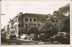 Fotografia tipo Postal Radio Hotel, Serra Negra...
