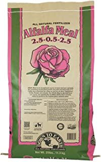 Down To Earth Natural Alfalfa Meal Fertilizer - 25 lb 25682 (Discontinued by Manufacturer) by Down To Earth