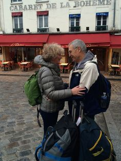 """a couple retires & lives the """"Airbnb"""" lifestyle & is more in love with life than ever! love this!!!!"""