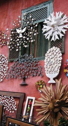 Handicraft from Embú das Artes, Brazil