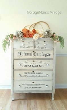 Armoire In My Bedroom Chalky Paint Furniture Shabby Chic Decoupage Furniture, Chalk Paint Furniture, Hand Painted Furniture, Recycled Furniture, Refurbished Furniture, Shabby Chic Furniture, Furniture Makeover, Diy Furniture, Furniture Online