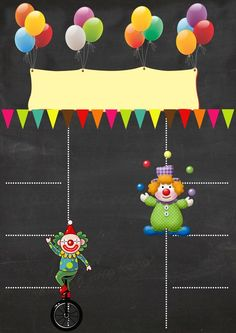 Creative Ways To Use Reversible Sequin Fabric Clown Party, Circus Party, Carnival Party Decorations, First Birthday Board, Diy Fluffy Slime, Blackboard Art, Boarders And Frames, Paper Umbrellas, Printable Invitation Templates