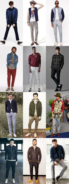 Men's Casual Tailored Trousers Outfit Inspiration Lookbook