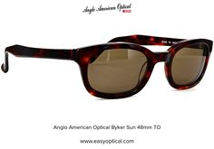 Anglo American Optical Byker Sun 48mm TO Sunglasses, American, Style, Swag, Sunnies, Shades, Outfits, Eyeglasses, Glasses