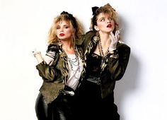 Black and gold 80s style