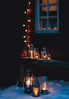 Winter Love, Winter Wonder, Winter Is Coming, Winter Snow, Dark Christmas, Christmas Deco, Christmas Time, Christmas Lanterns, Deco Marine