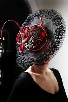 """""""Abilene"""" Julie Anne Lucas Millinery  North Perth  Western Australia #millinery #judithm #hats"""