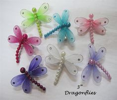 dragonflies that I would use as Christmas ornaments