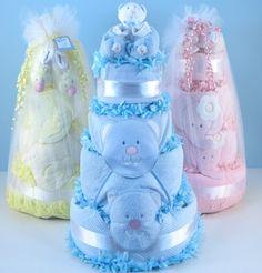 Supreme Baby Shower Diaper Cakes (#BGC333)