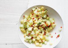 Pineapple Cucumber and Avocado Salsa | Vegetarian Times