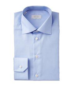 Eton   Houndstooth Dress Shirt   Dress Shirts   Harry Rosen