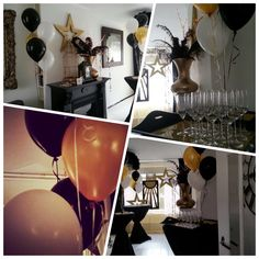 Great Catsby birthday party at home. Styled and created by Rich Art Design. The Netherlands.