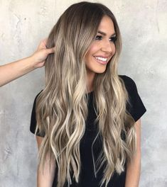 Balayage and ombre hair. Hair Color Ideas & Trends for Stylish and attractive. Balayage and ombre hair. Hair Color Ideas & Trends for Stylish and attractive. Ombre Hair Color, Hair Color Balayage, Cool Hair Color, Balayage Highlights, Blonde Balayage Long Hair, Ashy Balayage, Baylage, Color Highlights, Ash Blonde