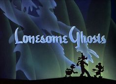 Lonesome Ghosts (1937) | These Stills From Old Disney Cartoons Are Insanely Gorgeous