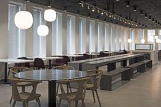 Office interior project by ARCH(E)TYPE #archetype #office #interior #canteen #diningroom