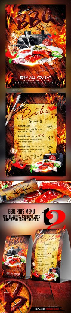 Mexican Restaurant Flyer Template  Flyer Template Mexicans And