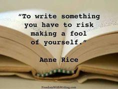 To write something...