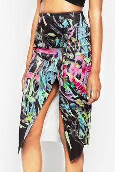 Spódnica asymetryczna Picasso