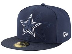 af15c4efcebde New Era Dallas Cowboys Navy 2016 Sideline Official Fitted Hat