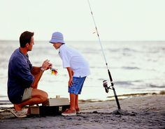 How about a fishing day with Dad in Myrtle Beach, South Carolina for Father's Day?  8 Piers, charters, boat rentals, surf fishing from the shore, fishing on local rivers or the Intercoastal Waterway - Reel in your special memories!
