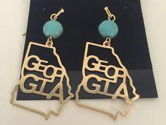 Georgia Cut Out Earrings