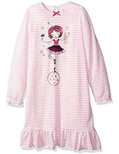 Petit Lem Little Nightgown Circus. * You can get more details by clicking on the image. (This is an affiliate link) #Nightgowns
