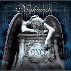 Nightwish - Once - Stellar album. Last one with Tarja Turunen. Heavy Metal, Metal Sinfônico, Gothic Metal, Metal Bands, Rock Bands, Symphonic Metal, Hard Rock, Classic Album Covers, Pochette Album