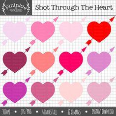 Valentine Clip Art Valentine's Day ClipArt Love by Pininkie, $3.00