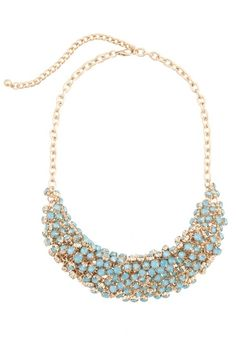 Clare Color Bib Necklace